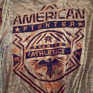 Men's American fighter long sleeve